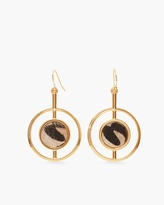 Chico's Hadley Circle Drop Earrings