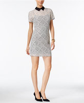 MICHAEL Michael Kors Collared Lace Sheath Dress