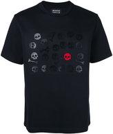 Markus Lupfer Skull and bones applique T- shirt