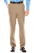 Louis Raphael Louis Rapheal Pleated Mini-Herringbone Dress Pants - Classic Fit