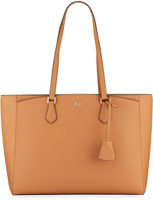 Tory Burch Robinson Large Saffiano Tote Bag