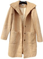 Ganni Beige Wool Coats