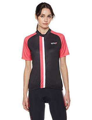Turnhier Bike Jersey Women Short Sleeves Cycling Jersey for Women Full Zipper