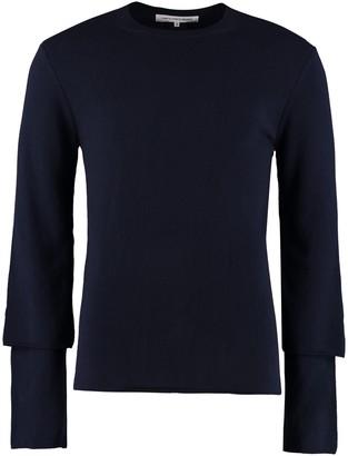 Comme des Garçons Shirt Crew-neck Wool Sweater
