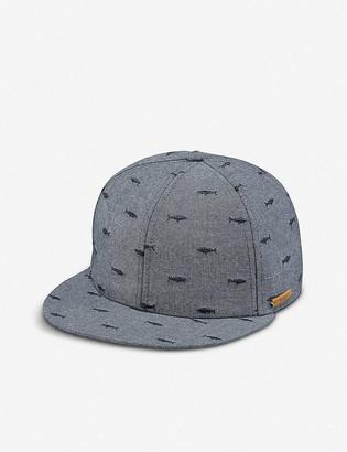Barts Al Pauk shark-embroidered cotton-blend baseball cap 2-8 years