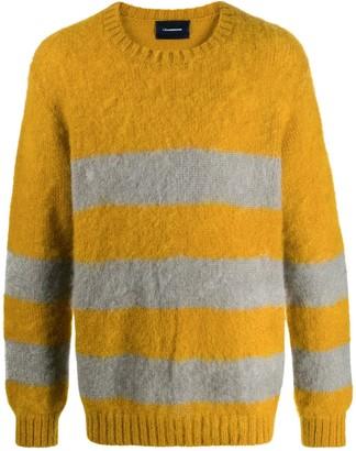 John Undercover Stripe Long-Sleeve Sweater