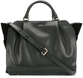 DKNY slouched cross-body tote