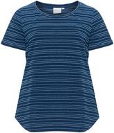 Junarose Plus Size Striped denim-look t-shirt