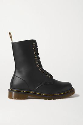 Dr. Martens 1490 Vegan Leather Ankle Boots - Black