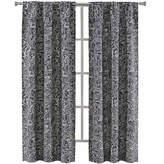 Asstd National Brand Richloom Laconia 2-Pack Rod-Pocket Curtain Panels