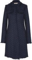 Nina Ricci Wool-blend tweed coat