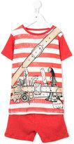 Stella McCartney pirate belt tracksuit - kids - Cotton - 4 yrs