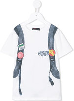 Junior Gaultier skate print T-shirt