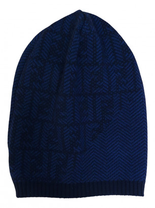 Fendi Blue Wool Hats & pull on hats
