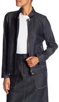 Lafayette 148 New York Avan Denim Jacket
