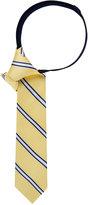 Tommy Hilfiger Boys' Repp Stripe Pre-Tied Tie