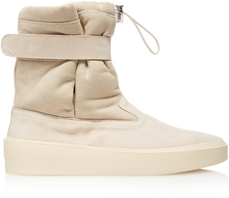 Fear Of God Ski Lounge Suede And Canvas Sneakers