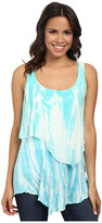 Miraclebody Jeans Tanya Layered Tank Top w/ Body-Shaping Inner Shell