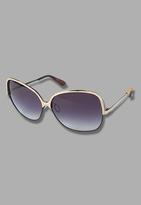 Dita Wonderlust Sunglasses in Gold/Black