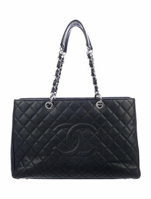 Chanel Grand Shopping Tote Black