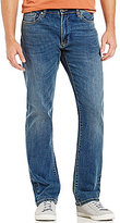 Ben Sherman Whiskered Straight-Fit Jeans