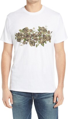 Rag & Bone Floral Camo Graphic Tee