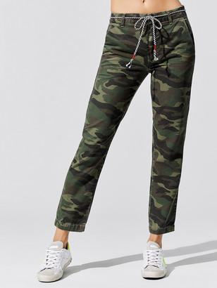 Sundry Camo Clean Straight Trouser
