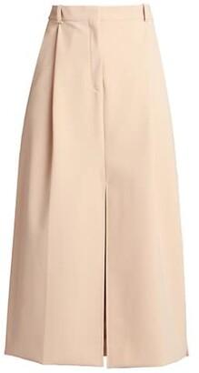 Nina Ricci A-Line Vented Skirt