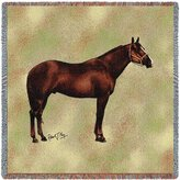 Pure Country Quarter Horse II Lap Square - 54 x 54 Blanket/Throw
