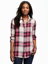 Old Navy Plaid Flannel Shirt for Women