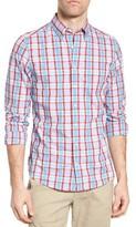 Gant Men's Tech Prep Plaid Fitted Sport Shirt
