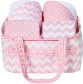 Trend Lab Pink Sky Baby Bath Gift Set