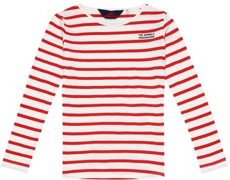 The Animals Observatory Deer striped cotton top