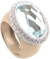 Pomellato 18K Rose Gold 1.12 Ct. Tw. Diamond & Aquamarine Ring