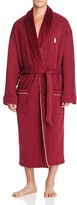 Polo Ralph Lauren Fleece Lined Shawl Collar Robe