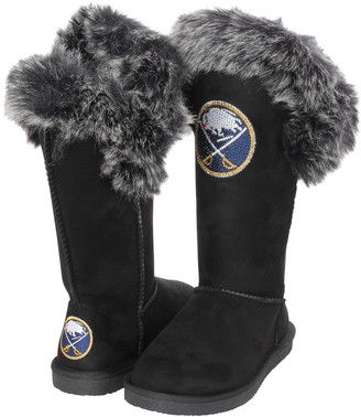 Women's Cuce Black Buffalo Sabres Devoted Boots