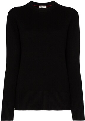 Ply-Knits Crew Neck Heavyweight Cashmere Sweater