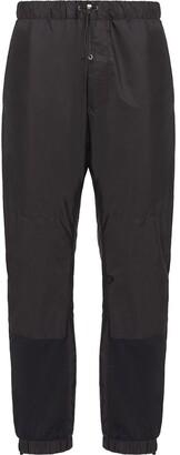 Prada cinch cord track pants