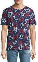 Gucci GucciGhost Star T-Shirt, Navy