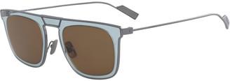 Salvatore Ferragamo Men's New Generation Two-Tone Sunglasses