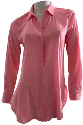 DKNY Pink Silk Top for Women