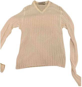 Dolce & Gabbana White Viscose Knitwear & Sweatshirts