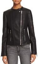 GUESS Jazmin Saint Faux Leather Moto Jacket