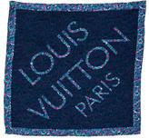 Louis Vuitton Floral Silk Pocket Square