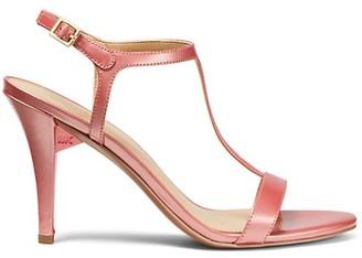 MICHAEL Michael Kors Arden T-Strap Leather Sandals
