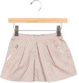 Bonpoint Girls' Patterned A-Line Skirt