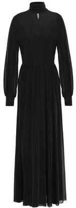 Diane von Furstenberg Stretch-jersey Turtleneck Maxi Dress