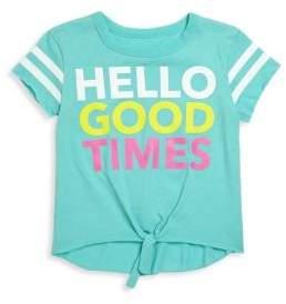 Chaser Toddler's, Little Girl's & Girl's Hello Good Times Jersey Tee