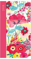 Caspari Floral 2018 Slim Diary, Pink
