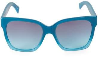 Moschino 56MM Dot Print Sunglasses